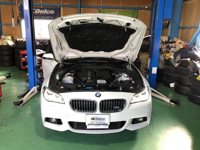 BMW F11 車高レベル異常!!