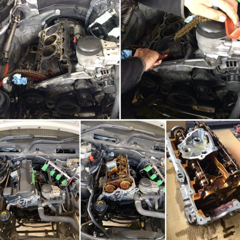 BMW E91 320 エンジンヘッドオーバーホール!!