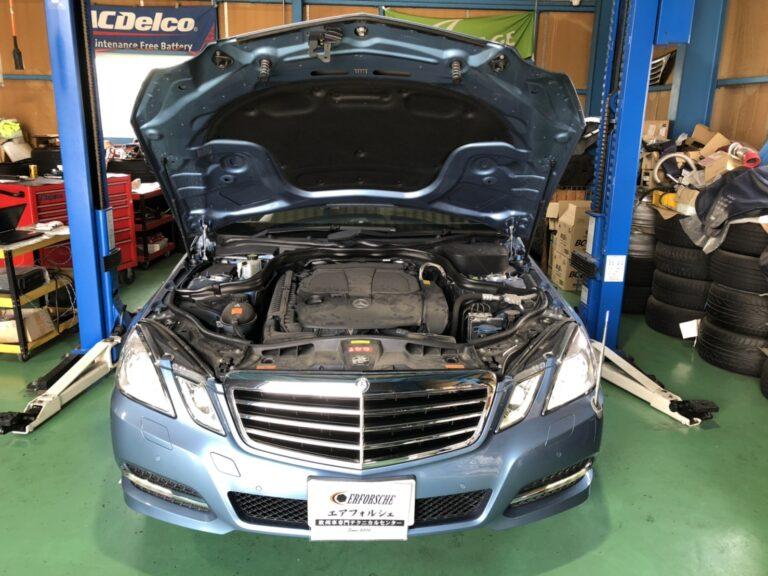 ベンツ W212 エンジンチェックランプ点灯!!