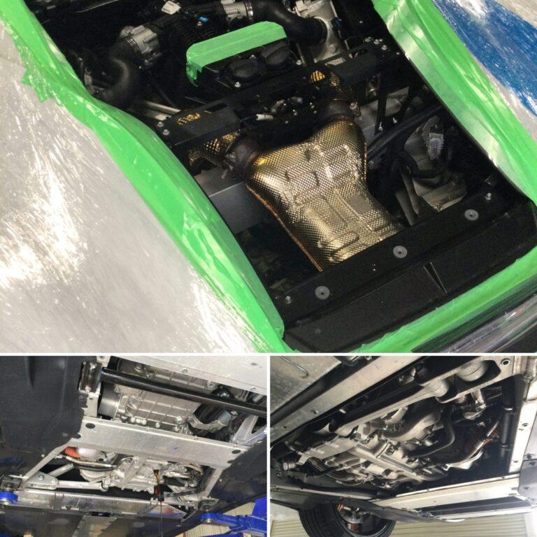 マクラーレン 540 エンジンオイル交換!!