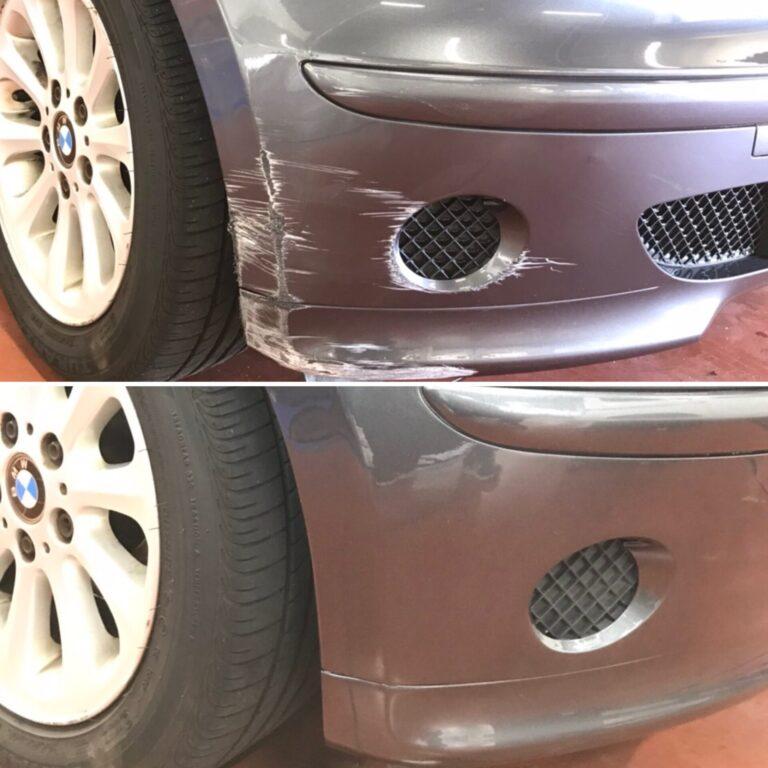 BMW E87 日帰り修正、塗装!!