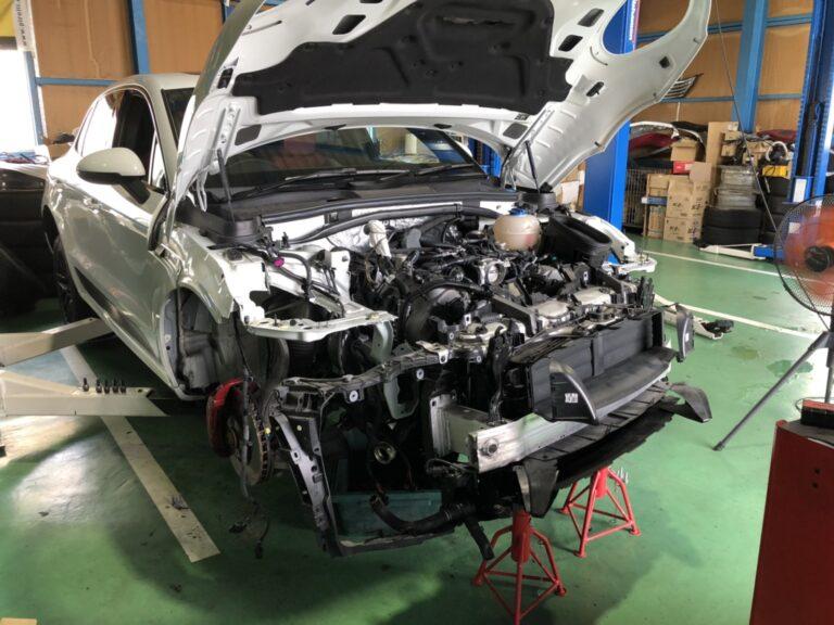 ポルシェ マカン GTS エンジンオイル漏れ修理 Part2!!