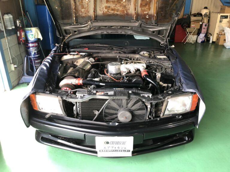 ベンツ W126 560SEC ケーニッヒ エンジン不調!!