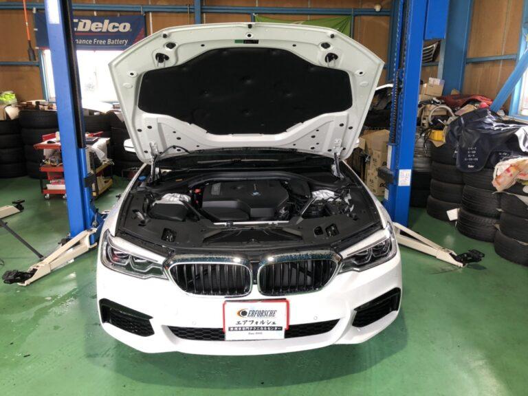 BMW G31 車検入庫!!