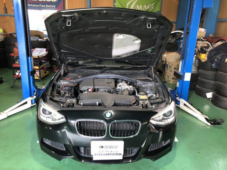 BMW F20 車検入庫!!