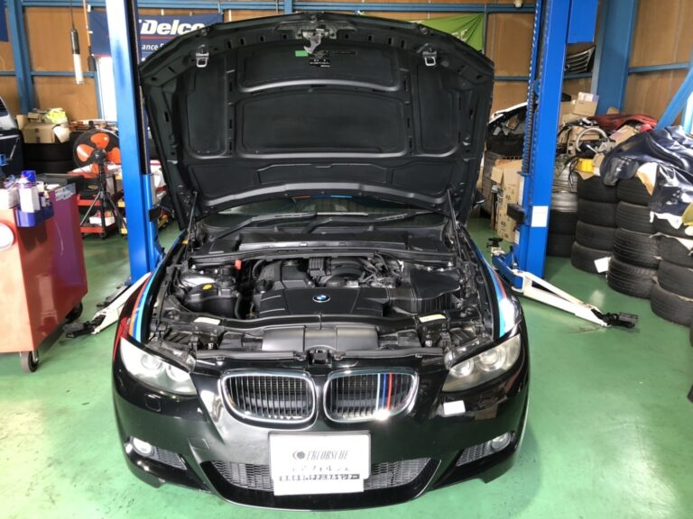 BMW E92 エアバック警告灯 点灯!!