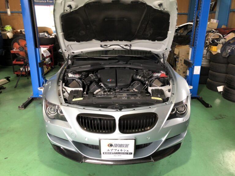 BMW M6 DSCユニット不良!! 本国特別生産!!